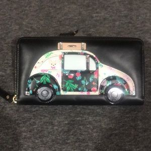 Kate Spade Leather Car Wallet